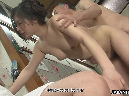 Asian bitches are getting fucked in a hot spa