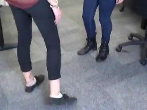 SMELL HER DIRTY FEET IN SOCKS -- mfl